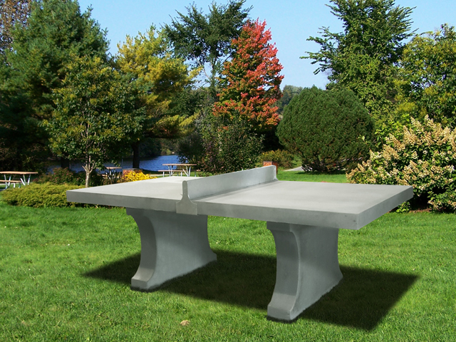 Table de ping pong en b ton tessier rp tessier rp for Table ping pong exterieur pas cher
