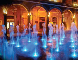 Fontaines interactives avec la technologie Watergush